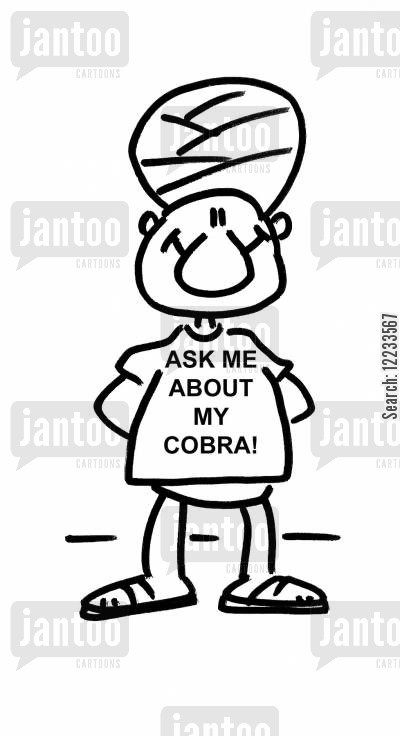 hindus cartoon humor: Ask me about my Cobra!