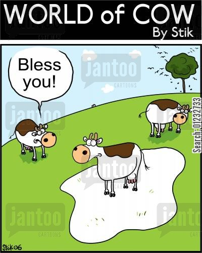 courtesy cartoon humor: Bless you!