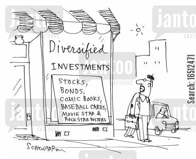 movie star posters cartoon humor: Diversified Investments: Stocks, bonds,comic books,baseball cards,movie star and rock star posters.