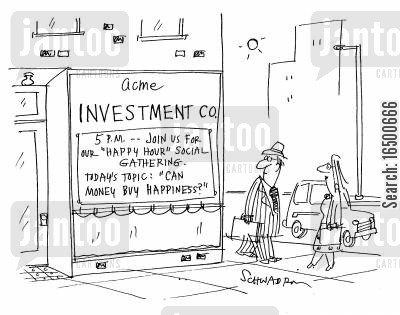 money mad cartoon humor: Can money buy happiness?