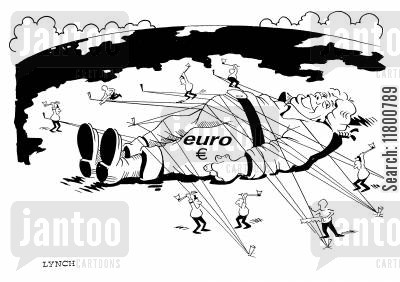 converging cartoon humor: Euro Released