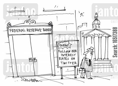 follows cartoon humor: Follow our interest rates on Twitter.