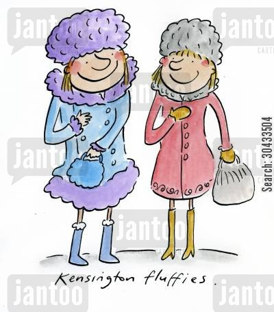 fund cartoon humor: Kensington Fluffies