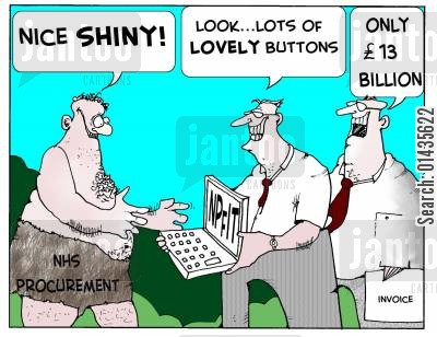 databases cartoon humor: 'Nice Shiny'
