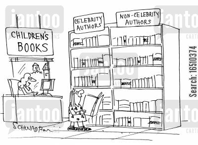childrens literature cartoon humor: Children's Books: Celebrity AuthorsNon-Celebrity Authors.