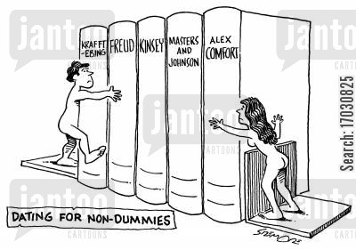 intellectuals cartoon humor: DATING FOR NON-DUMMIES