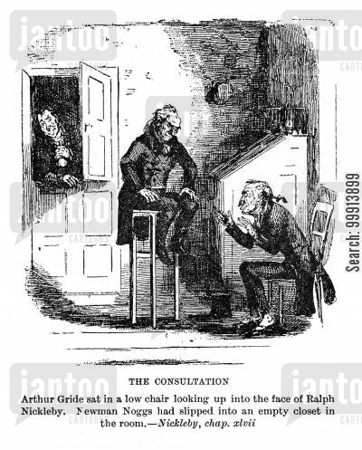 ralph nickleby cartoon humor: The consultation