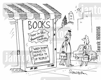 chicken soup for the soul cartoon humor: Books 'when down markets happen to up people.2