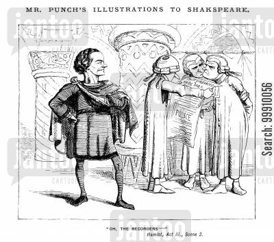 prince of denmark cartoon humor: Mr. Punch's Illustrations to Shakspeare