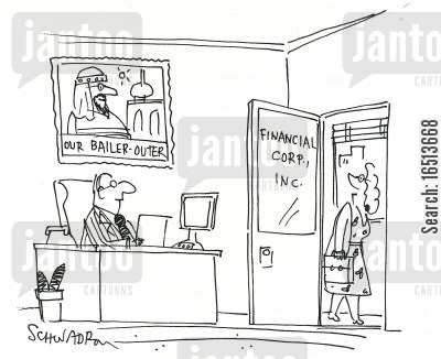 our bailer-outer cartoon humor: Financial Corp. Inc.