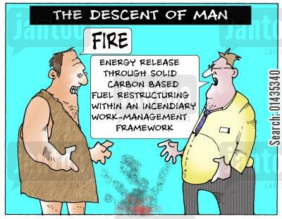 descent of men cartoon humor: The Descent of Man