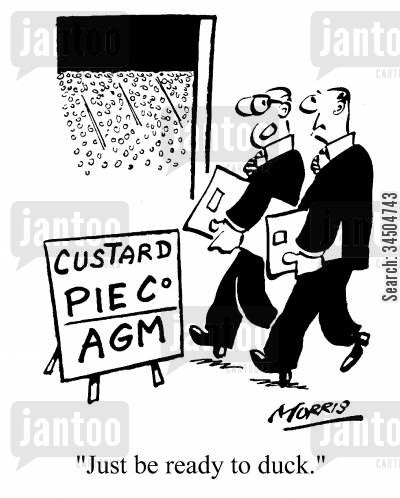 agm cartoon humor: Just be ready to duck.