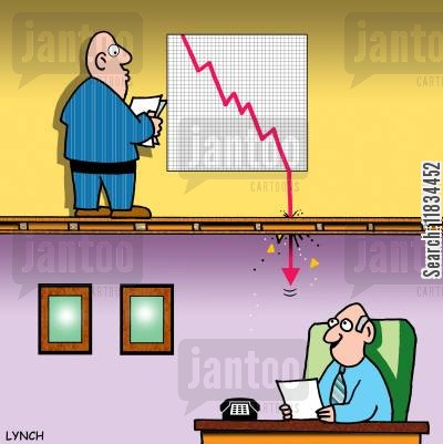 kpi cartoon humor: Economic Crisis.