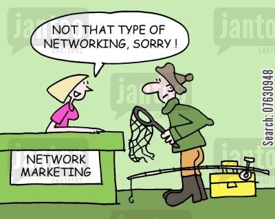 headhunting cartoon humor: Not that kind of networking, sorry!