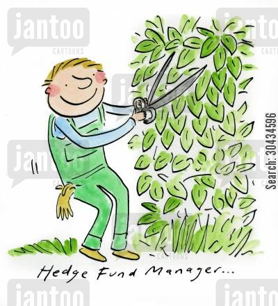 fund cartoon humor: Hedge Fund Manager...