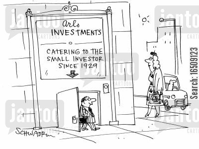shortie cartoon humor: Catering to the Small Investor since 1929.