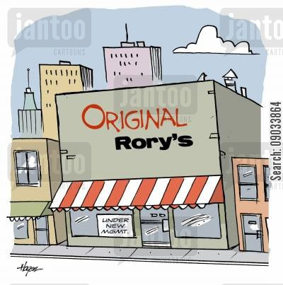 new management cartoon humor: Original Rory's - Under New MGMT.