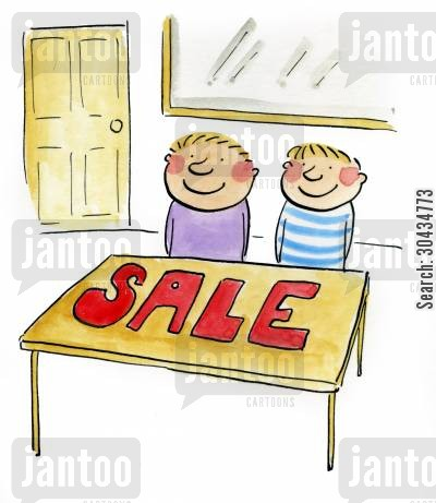etiquettes cartoon humor: SALE