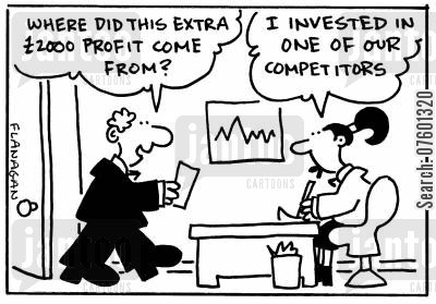 dividend cartoon humor: 'Where did this extra