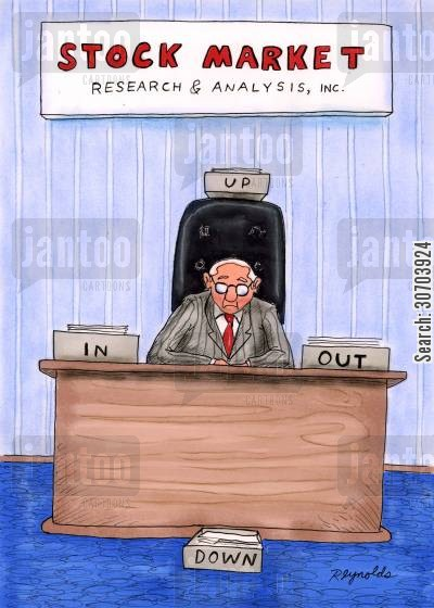 analysed cartoon humor: Stock Market Research and Analysis