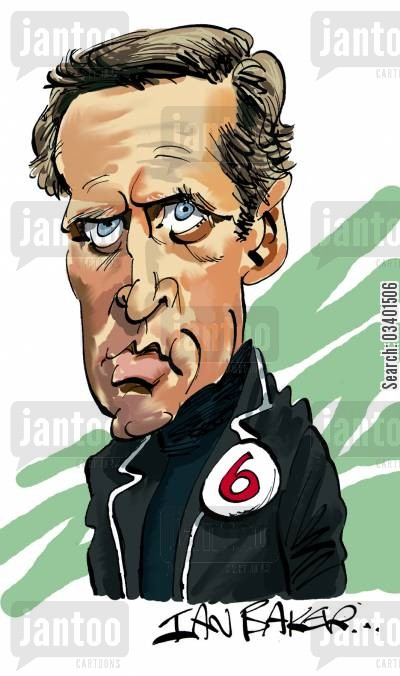 acted cartoon humor: Patrick McGoohan