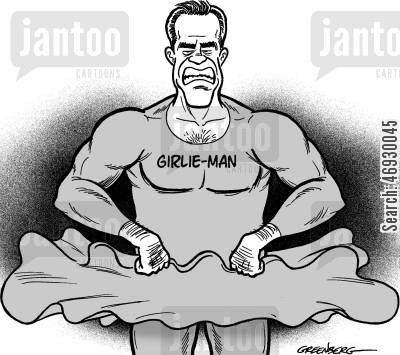 caricature cartoon humor: Arnold Schwarzenegger.