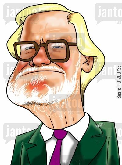 football clubs cartoon humor: Footballers - Ken Bates