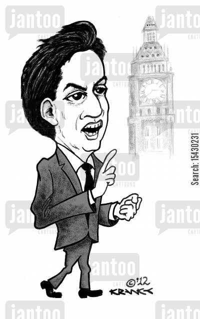 member of parliament cartoon humor: Ed Miliband