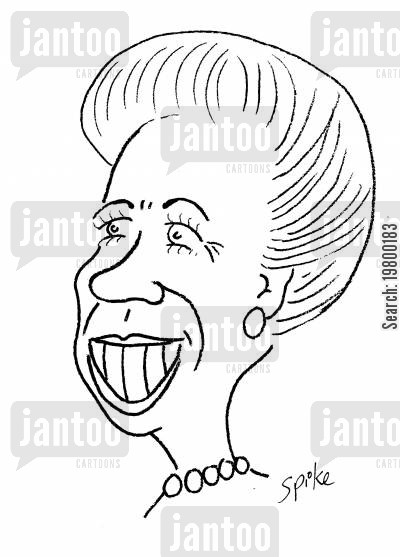 royal families cartoon humor: Princess Anne