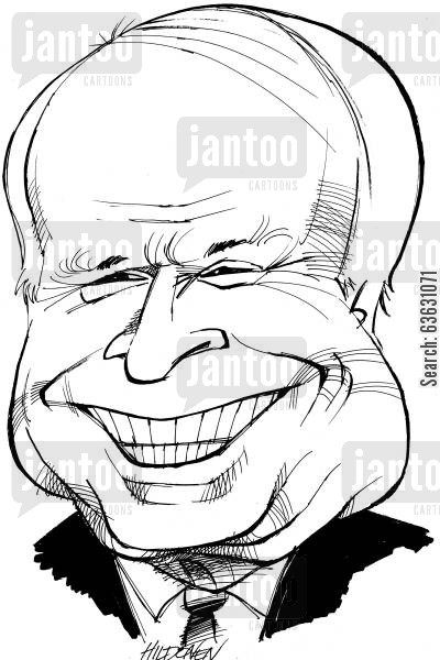 republicans cartoon humor: John McCain.