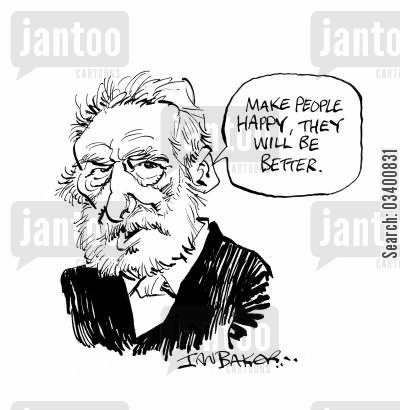 les miserables cartoon humor: Victor Hugo.