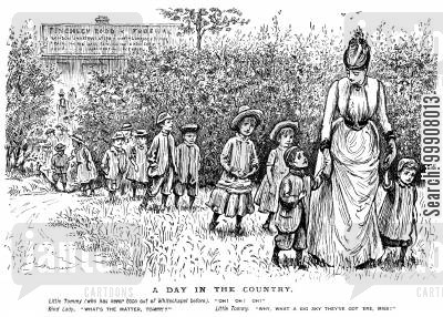 day out cartoon humor: A Day in the Country.