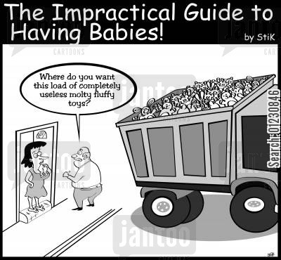 fluffy cartoon humor: Impracticle Guide to Having Babies