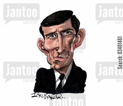 dramas cartoon humor: George Lazenby