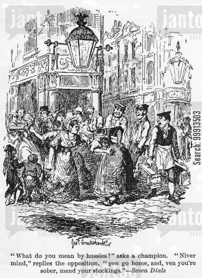 impoverished cartoon humor: Seven Dials