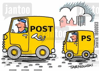 ps cartoon humor: P.S. van.