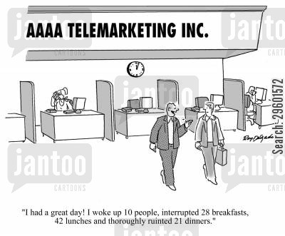 good day cartoon humor: 'I had a great day! I woke up 10 people, interrupted 28 breakfasts, 42 lunches and thoroughly ruined 21 dinners.'