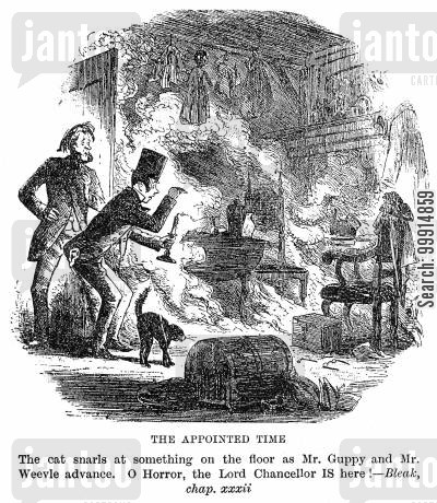 spontaneous human combustion cartoon humor: The appointed time