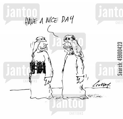 nice day cartoon humor: 'Have a nice day.'