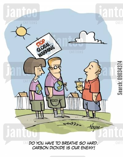 oxegyn cartoon humor: Stop Global Warming