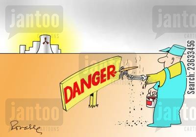 nuclear energy cartoon humor: Danger, Nuclear Energy