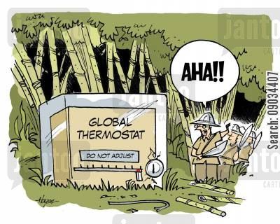 explored cartoon humor: Global Warming