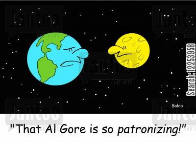 patronizing cartoon humor: 'That Al Gore is so patronizing!'
