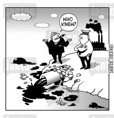 sewage cartoon humor: Who knew?