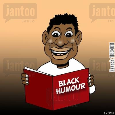 sense of humor cartoon humor: Black humour