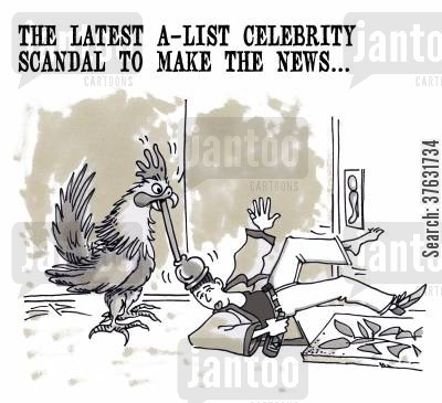 gossipers cartoon humor: The Latest A-List Celebrity Scandal To Make The News...