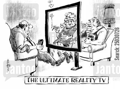 observing cartoon humor: The Ultimate Reality TV