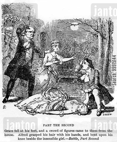 alfred heathfield cartoon humor: The Battle of Life - Part the Second