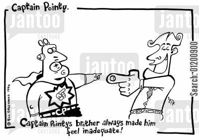 inadequate cartoon humor: Captain Pointy No.24 - Better Brother