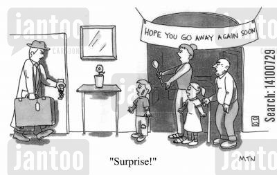 disliked cartoon humor: Surprise